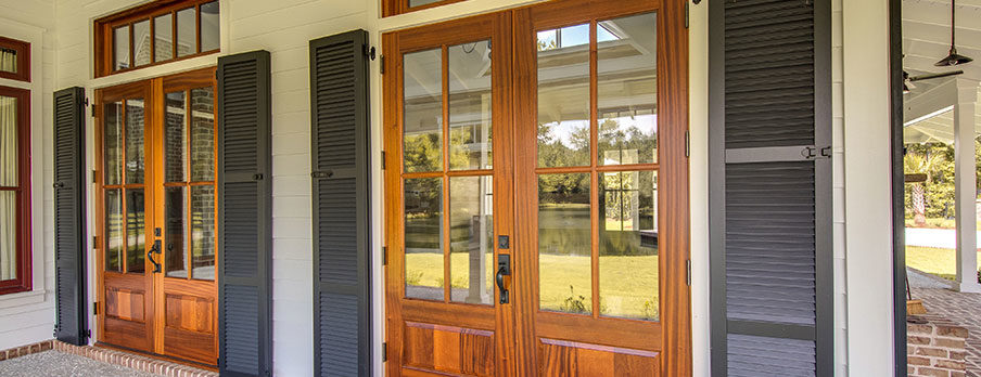 Armor's exterior window archetectural shutters come in a variety of custom styles and colors.