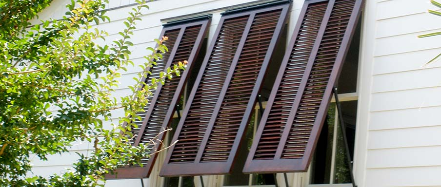 Bluffton Storm Protection - Bahama shutters