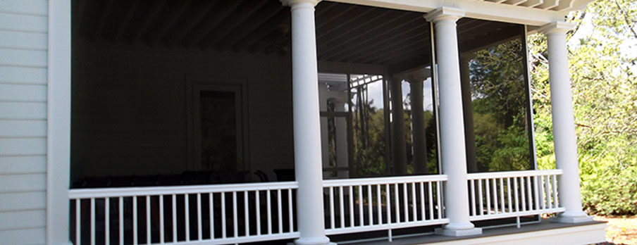 Deck enclosure and screened decks in Bluffton, SC