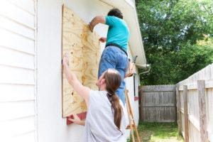 Plywood vs Hurricane Shutters
